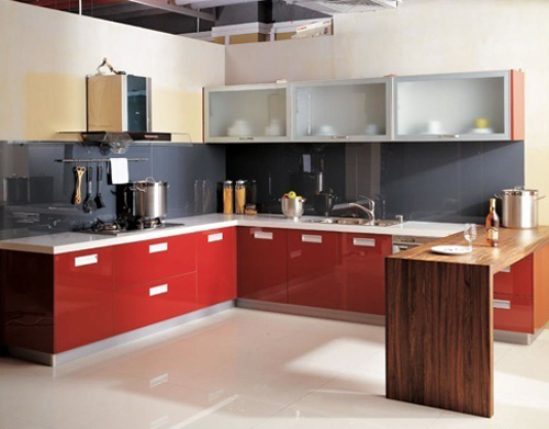kitchen cabinets sets in good looking colors | freshnist