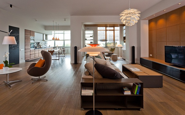 Luxury Apartment Design With Interiors In Russia Freshnist
