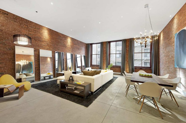 Stunning penthouse apartment in new york city freshnist for Modern apartments nyc