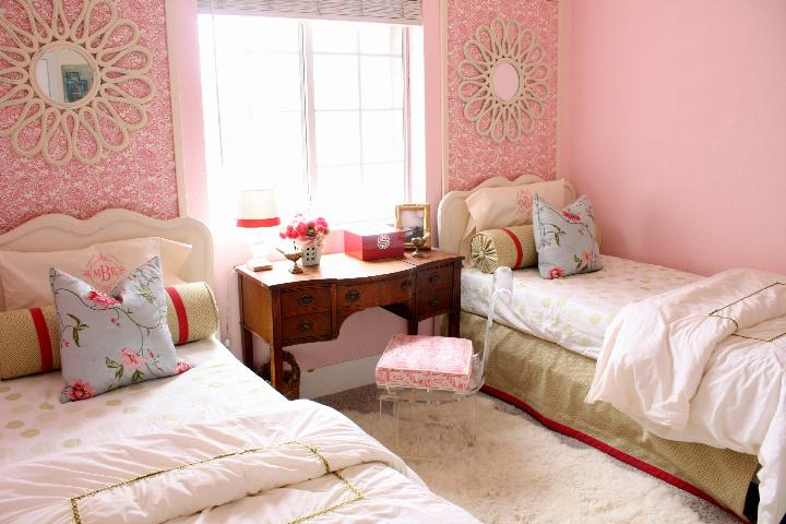Modern Ideas For Twin Girls Bedroom In Many Colors