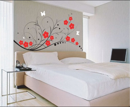 bedroom wall murals modern and unique collection of wall decor ideas freshnist 10742