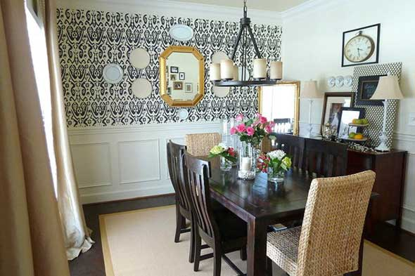 gallery for wall decoration ideas for dining room