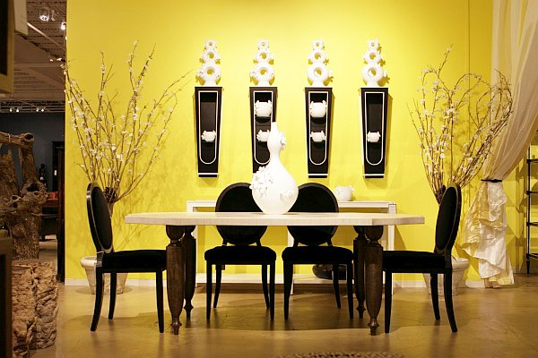 Modern and unique collection of wall decor ideas freshnist for Dining room wall design