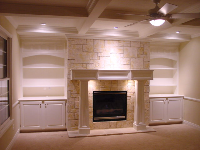 gray fireplace design ideas - Fireplace Design Ideas With Tile