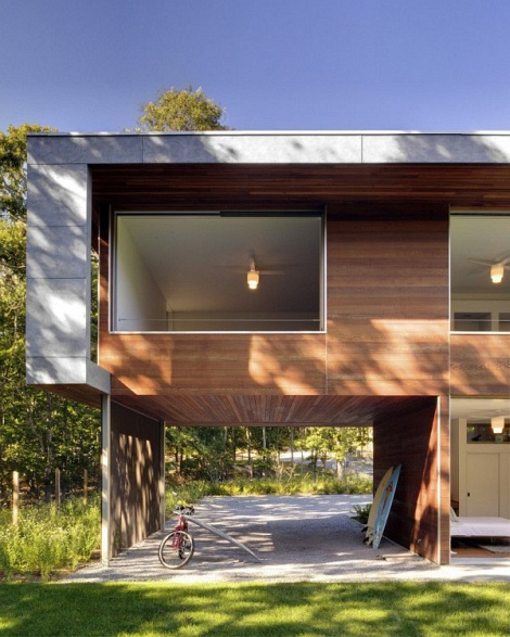 New Home Designs Latest December 2012: Stylish And Modern House - Montauk In New York