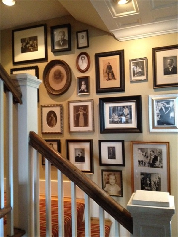 15 Ideas About Display Family Photos On The Walls Freshnist
