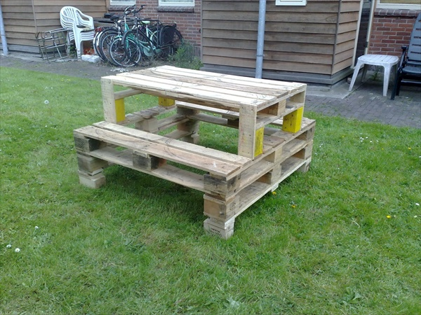 22 ideas about pallet furniture - useful out of waste | freshnist Table Ideas