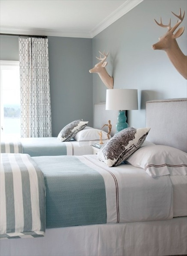 Teal Bedroom 10