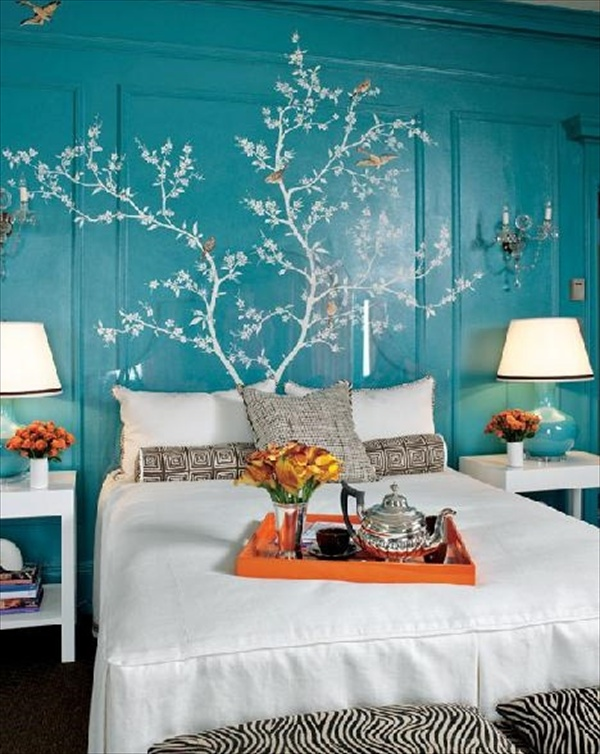 Teal Bedroom 8
