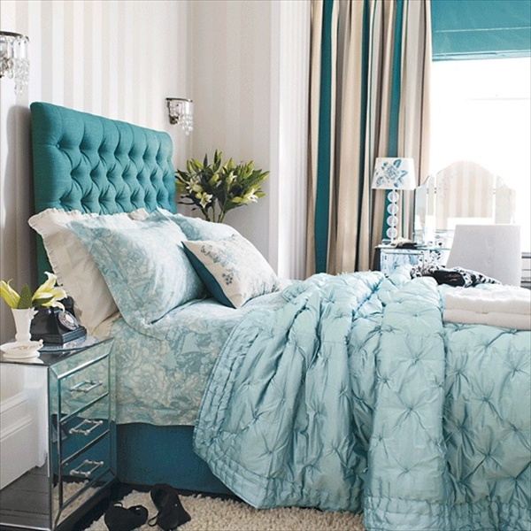 teal-bedroom