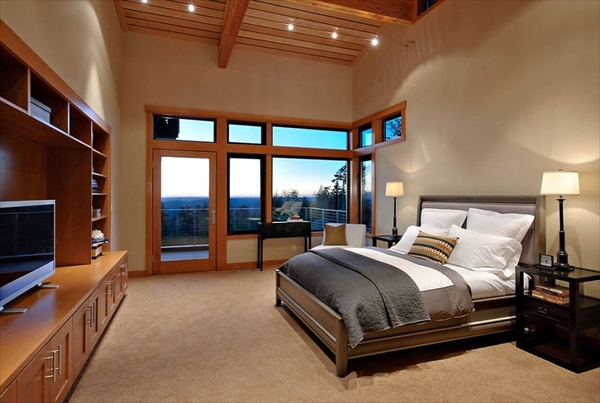 10 Modern and Luxury Cool Bedrooms | Freshnist