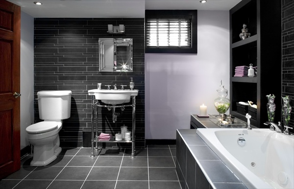 11 grey bathroom ideas freshnist for New home bathroom ideas