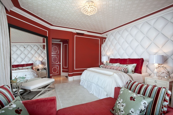 Red Bedroom Ideas and Decor  Freshnist