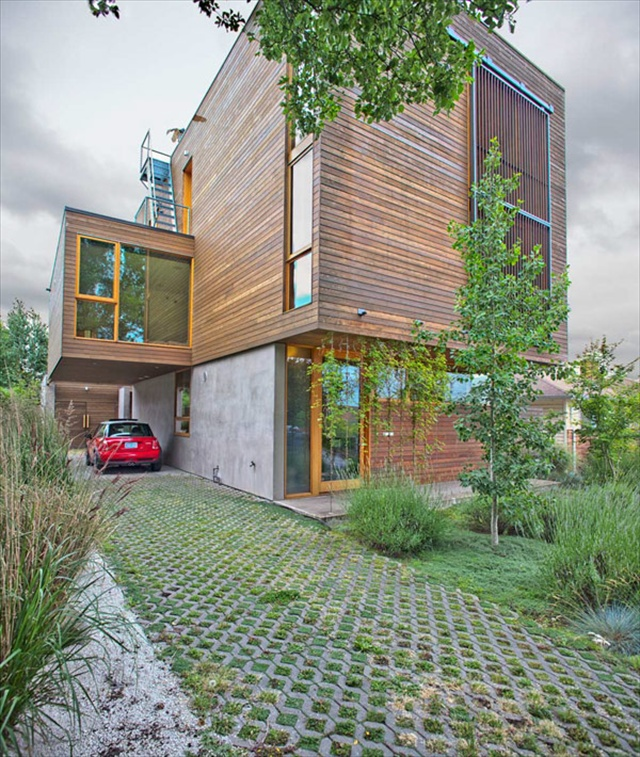 the modern wooden house by plastolux portland freshnist
