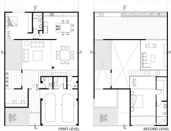 Modern architect layout