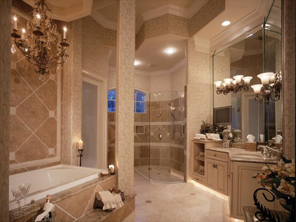 10 modern and luxury master bathroom ideas freshnist for Master bathroom layouts designs