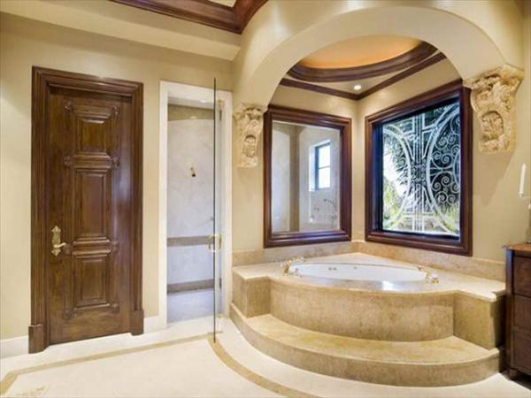 fashionable master bathroom design