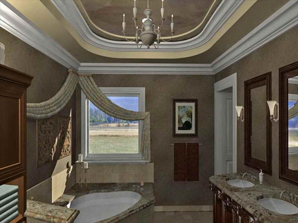 classy master bathroom design