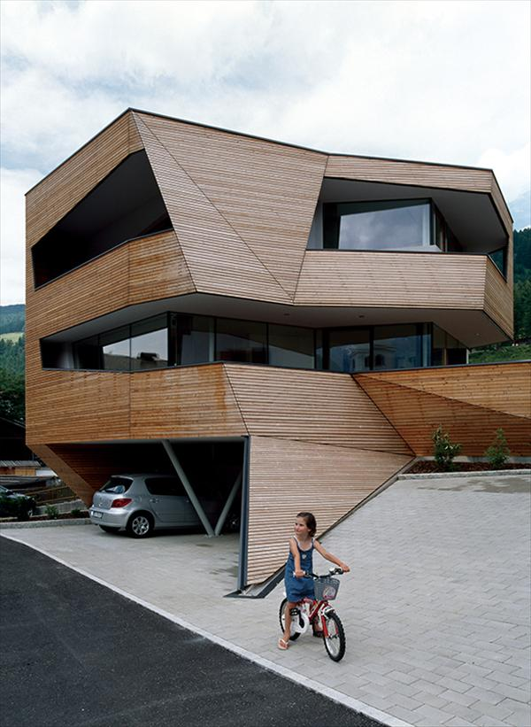 Modern Cube House P by Philipp Architekten, Germany