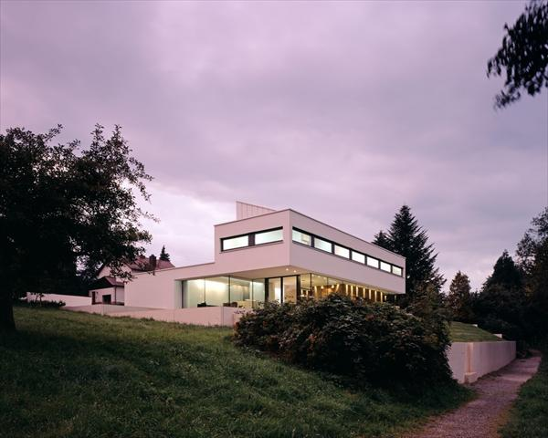 Modern House P by Philipp Architekten, Germany